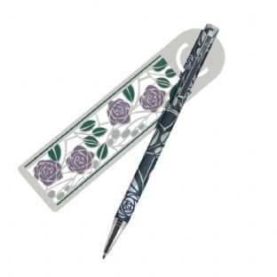 Rennie Mackintosh Pen & Bookmark Set (5)